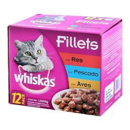 Alimento Para Gato Whiskas 85 g x 12
