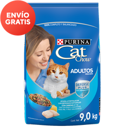 Alimento Para Gato Purina Cat Chow Adulto 9 Kg