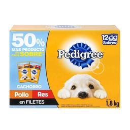 Alimento Para Perro Pedigree Cachorro 150 g x 12