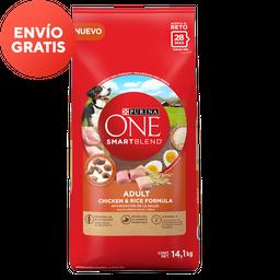 Alimento Para Perro Purina One SmartBlend Adulto 14.1 Kg