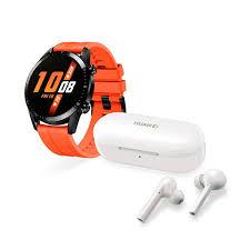 Huawei Gt 2Da Generación Naranja Audifonos Freebuds Lite Blanco