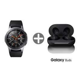 Samsung Galaxy Watch Negro 46Mm Con Audifonos Galaxy Buds Negro