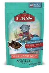 Premio Para Gato Petzoo My Little Lion Sabor A Salmon 75 G
