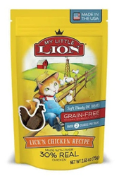 Premio Para Gato Petzoo My Little Lion Sabor A Pollo 75 G