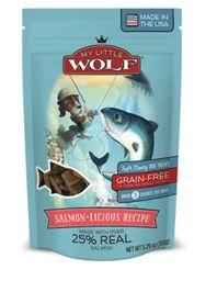 Premio Para Perro Petzoo My Little Wolf Sabor A Salmon 150 G