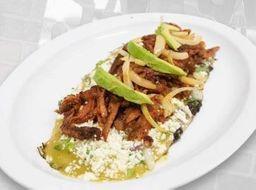 Huarache de Bisteck