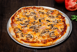 Pizza Pancetta Champiñones