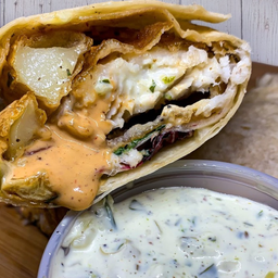 Fish & Chips Taco Gigante