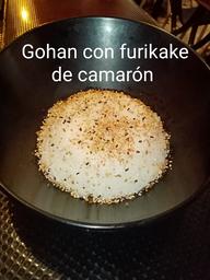 Gohan con Furikake de camaron