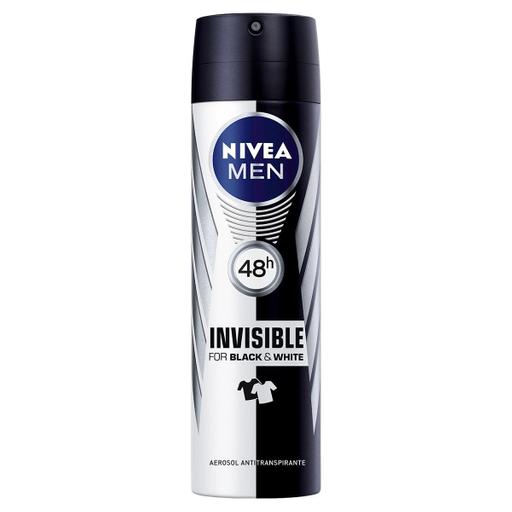Nivea Men Antitranspirante Invisible Black & White Power Spray