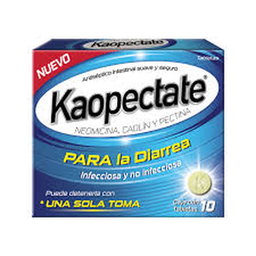 Antidiarreico Kaopectate 10 Tabletas