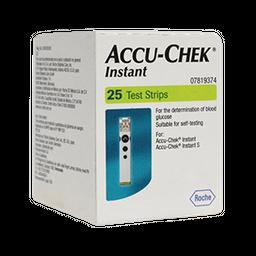 Tira Reactiva Accu Chek Instant 25 U