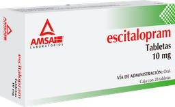 Escitalopram 10 Mg C 28 U