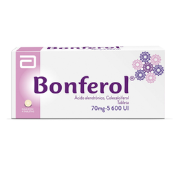 Bonferol 4 Tabletas (70 mg/ 5600 UI)