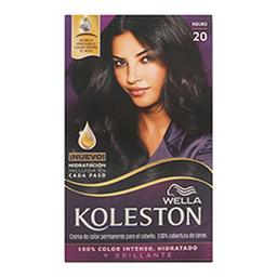 Tinte Wella Koleston en Crema Negro