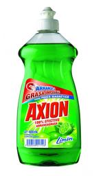Jabón Axión Limón Líquido 400 mL