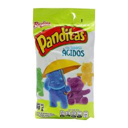 Gomitas Panditas Con Sabores Ácidos