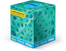 Pañuelos Kleenex® ColdCare® Mentol 60's