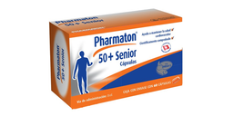 Pharmaton 50+ Senior Vitaminas 250mg