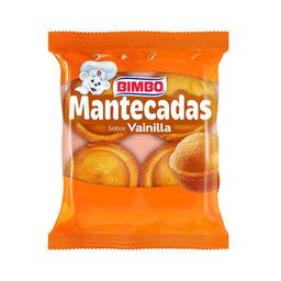 Bimbo Pan Dulce Mantecadas Vainilla