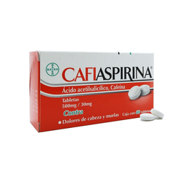 Cafiaspirina Forte (500 Mg/30 Mg)