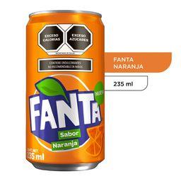 Fanta Naranja 235 ml