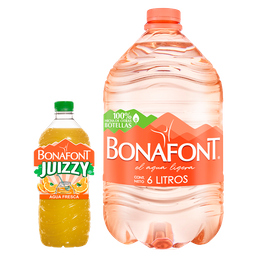 Rappicombo Bonafont + Juizzy Naranja