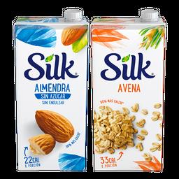 Rappicombo Silk Almendra Sin Azúcar + Silk Avena