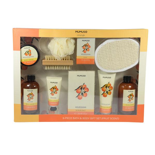 Set de Baño y Cuerpo Aroma Frutal 9 U