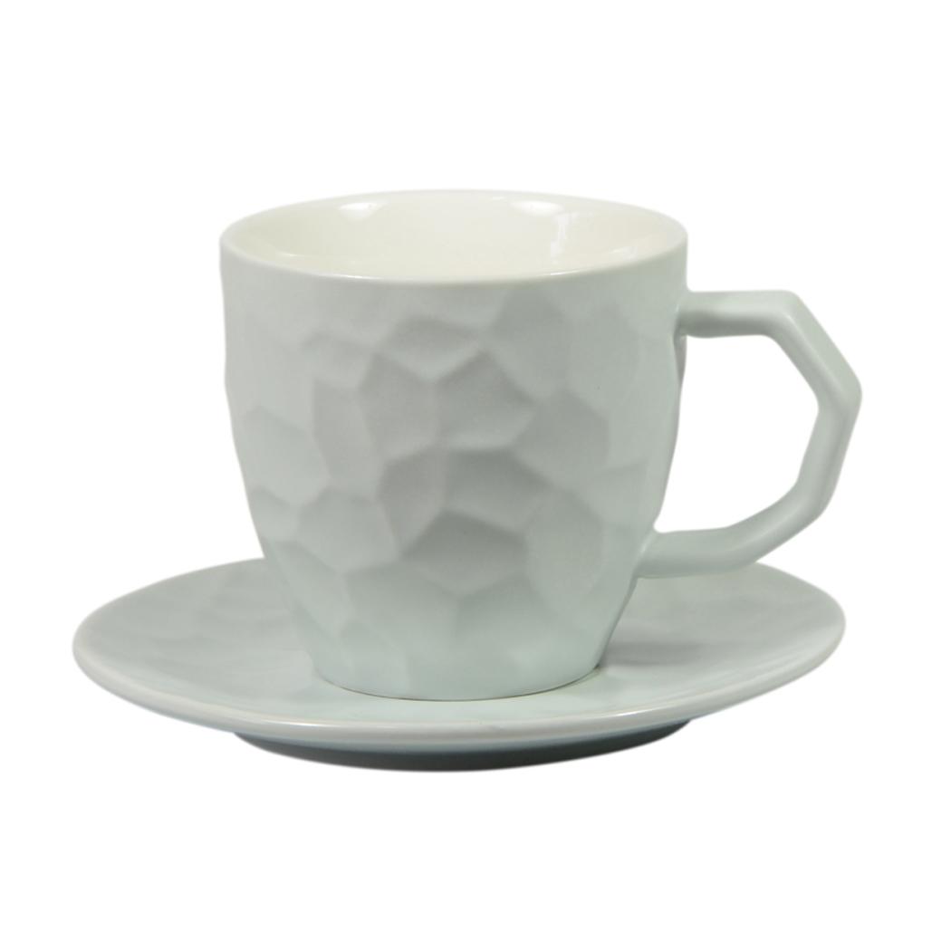 Taza de Café The Water Cube Azul Capacidad 240 mL