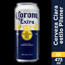 Cerveza Corona Extra Latón 473 mL