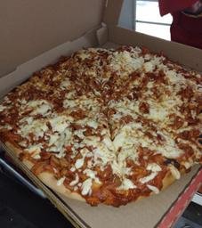 Pizza de Pastor Grande