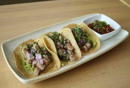 Tacos de Carnitas de Atún