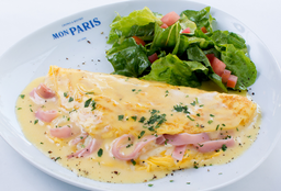 Omelette Cluny