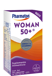 Pharmaton Woman 50+ 30 capsulas