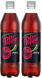 2 Dr. Pepper Refres Cherry 600Ml
