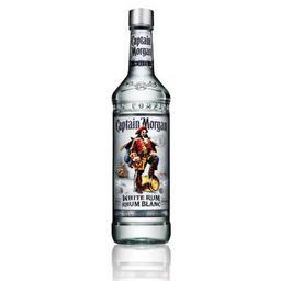 Captain Morgan White Rum - Captain Morgan - Botella 750 ml