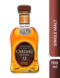 Whisky Cardhu 12 años - Black & White - Botella 750-50 ml
