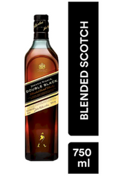 Whisky Johnnie Walker Double Black - Botella 750 ml