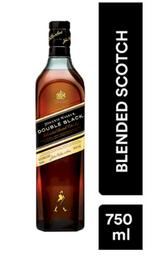 Whisky Johnnie Walker Double Black - Botella 750 ml