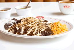 Enchiladas Neimans de Mole