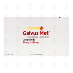 Galvus Met (50 Mg/850 Mg)