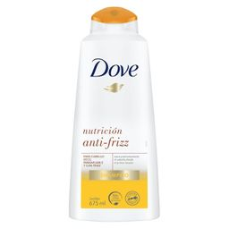 Shampoo Dove Nutrición Anti-Frizz