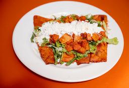 Enchiladas sin Pollo