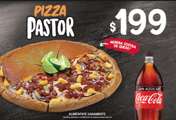 Combo Pizza Grande Pastor