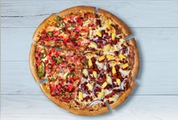 Pizza Grande Mexicana y Pastor