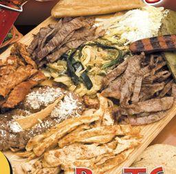 Parrillada  Burritos  (3 Personas)