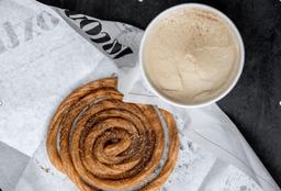 Churro con helado de café y 43