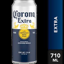 Cerveza Corona Extra Lata 710 mL