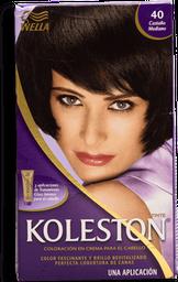 Tinte Wella Koleston en Crema Castaño Medio